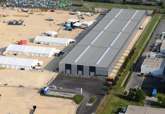 Warehouse to let in Sóstó Industrial Park